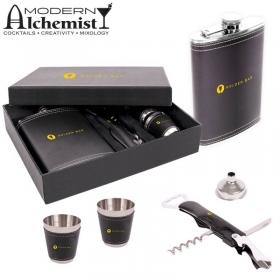 Promotional products: The Aberfeldy Flask Gift Set (9 Oz.)