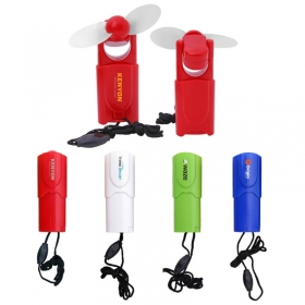 Promotional products: The Brise Retractable Mini Fan