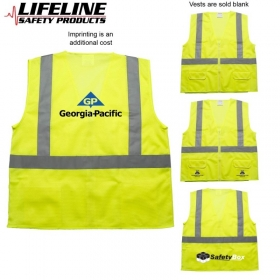 Promotional products: Ansi 2 Safety Vest With Pockets