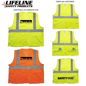Promotional products: Ansi 2 Yellow Safety Vest