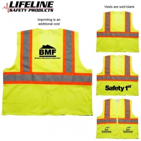 Promotional products: Ansi 2 Tri Color Safety Vest