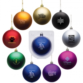 Promotional products: Shatter resistant ornament