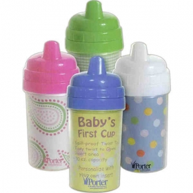 Promotional products: 10 oz. non spill baby cup
