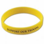Promotional products: Screened wristbands
