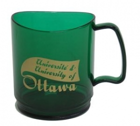 Promotional products: Stax 14oz emerald mug