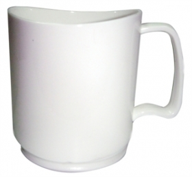 Promotional products: Stax 14oz white mug