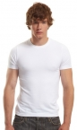 Promotional products: Bamboo stretch slim fit crew