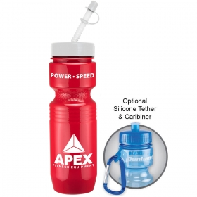 Promotional products: 26oz jogger bottle (straw tip lid)