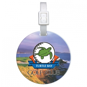 Promotional products: Domed Round Golf Bag Tag