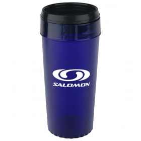 Promotional products: 16oz futura stainless steel mug