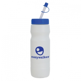 Promotional products: 26 oz value bottle (straw tip lid)