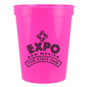 Promotional products: 16oz stadium cup