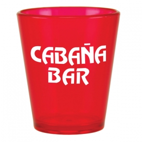 Promotional products: 2oz Acrylic Shot Glass