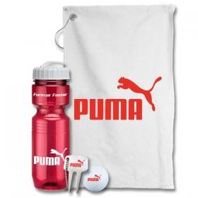 Promotional products: Jogger Bottle Golf Gift Set