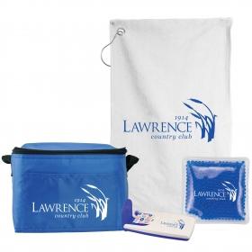 Promotional products: 6 Pack Cooler Bag Golf Gift Set