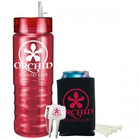 Promotional products: Ridgeline Bottle Golf Gift Set