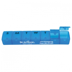 Promotional products: Weekly pill dispenser