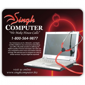 Promotional products: Econo Rectangle Mouse Pad