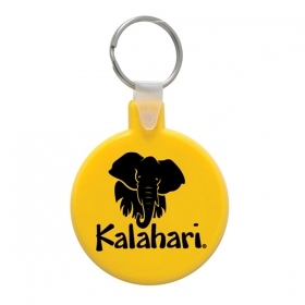 Promotional products: Round Soft Keytag