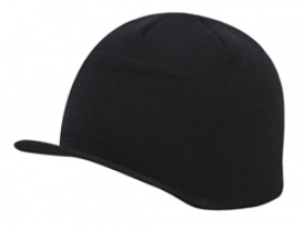 Promotional products: Acrylic beanie with soft brim