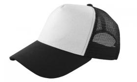 Promotional products: Cotton foam front mesh back cap