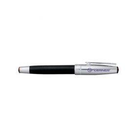 Promotional products: Cutter & Buck® American Classic Leather Roller Bal