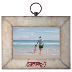 "Promotional products: Galvanized Frame 5""x7"""