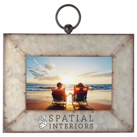 "Promotional products: Galvanized Frame 4""x6"""