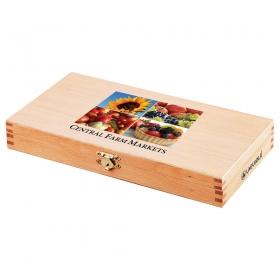 Promotional products: Laguiole 6-piece Steak Knife Set (wood)