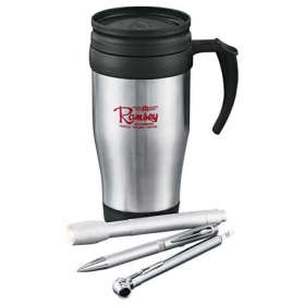 Promotional products: Java Road Warrior Set 14oz