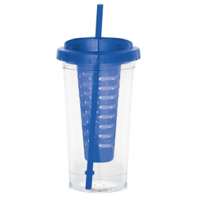 Promotional products: Cool Gear® Sedici Fruit Infuser Tumbler 24oz