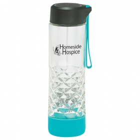 Promotional products: Geometric Glass Bottle 20oz