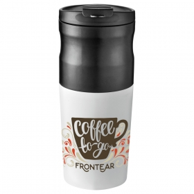 Promotional products: All-in-one Portable Electric Coffee Maker 14oz