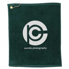 Promotional products: 1.3 lb./doz. Terry Golf Towel