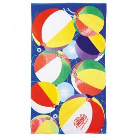 Promotional products: 14 lb./doz. Beach Ball Beach Towel