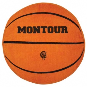 Promotional products: Basketball Shaped Stock Design Sport Towel