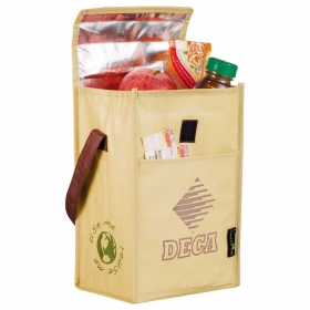 Promotional products: Laminated Non-woven Brown Baggin