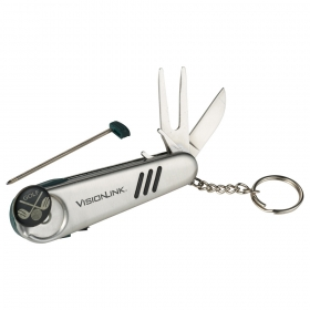 Promotional products: Golf 7-in-1 Tool Keyholder