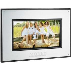 "Promotional products: 7"" Aluminum Digital Photo Frame - 1GB"