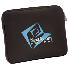 Promotional products: Neoprene Zippered Tablet Sleeve