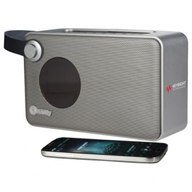 Promotional products: ifidelity Whirl Alarm Clock Radio Speaker
