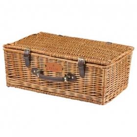 Promotional products: Picnic Time Newbury Wine Basket