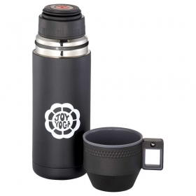 Promotional products: High Sierra(r) Blackout Vacuum Bottle 20oz