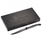 Promotional products: Laguiole Black Knife Set