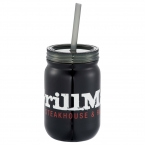 Promotional products: Stainless Mason Jar 24oz