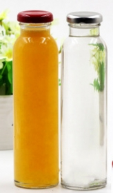 Promotional products: Tall Glass Jars With Lug Caps (juice,milk,beverage)