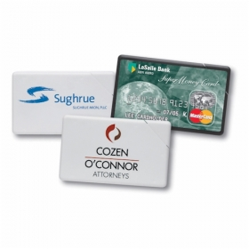 Promotional products: Plastic mint card flat