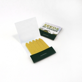 Promotional products: Small matchstick garden, single-sided