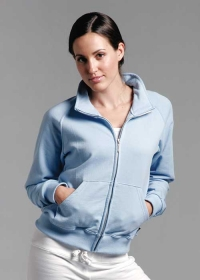 Promotional products: King ladies forever  collared full-zip jacket 15oz