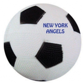 "Promotional products: 6"" rubber soccerball"